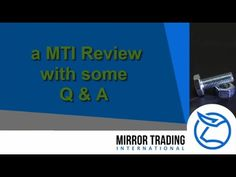 A MTI member answers some general and typical questions that are typically asked by new members into Mirror Trading International. New or existing MTI member. Cool Mirrors, International News, How To Become, Presentation, This Or That Questions
