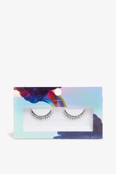 These faux lashes are larger than life, with a glue applicator for hours of wear and an ultra-glam look.