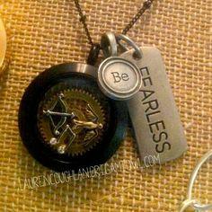 The Hunger Games inspired locket SparkleWithJennifer.OrigamiOwl.com