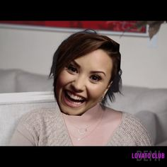 """""""Answered some questions about nip slips and aliens in the Lovato Club """""""