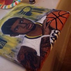Paul George Pacers painting & wall art available by Paul George Pacers, Names Of Jesus, The Dreamers, Paintings, Wall Art, Trending Outfits, Artist, Prints, Inspiration