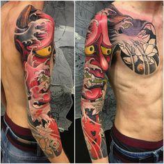 Japanese Style Tattoo 121