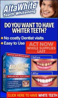 Teeth Whitening - Natural Herbal Alta White product for your Health.
