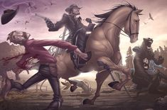 Red Dead Redemption v2 by PatrickBrown on deviantART