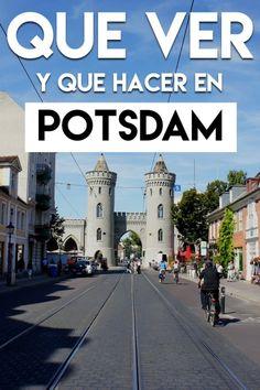 Que hacer y que ver en Potsdam, Alemania en un día Weekly Planner, Sidewalk, Street View, Lettering, Travel Blog, A5, Bullet Journal, Tourist Map, Viajes