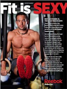 Reebok, Crossfit, Rich Froning jr......love em' all.