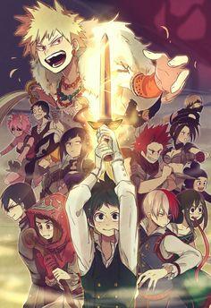 Nonton Boku No Hero Season 2 : nonton, season, Pastel, Ideas, Animal, Drawings,