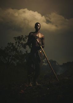 Ugandan man by Jeremy Cowart