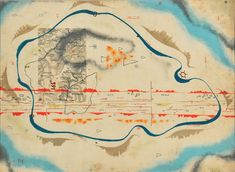 Bruno Munari, Cosmic Map, 1930. Tempera on card, Gambini Collection, Busto Arsizio.