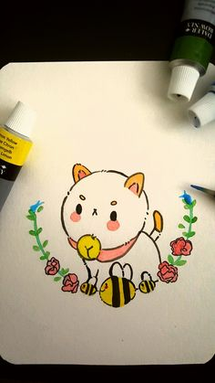 bee and puppycat Villainous Cartoon, Dibujos Cute, Otaku, Cartoon Shows, Kawaii Art, Cultura Pop, Geek Out, Pokemon, Bee And Puppy Cat