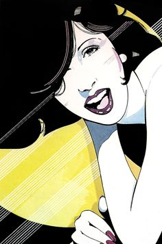 Patrick Nagel - Illustrations