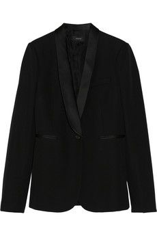 Joseph Helmut satin-trimmed wool tuxedo blazer | NET-A-PORTER