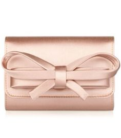 Valentino rose gold bowed clutch!!!!