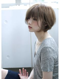 New Hair Cuts Layers Choppy Fringes Short Bobs Ideas Short Haircut Styles, Short Bob Hairstyles, Pretty Hairstyles, Hairstyle Short, Hairstyles Haircuts, Pixie Haircuts, Cut My Hair, New Hair, Girl Short Hair
