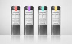 Bonnard / Metallic tea packaging / Anagrama