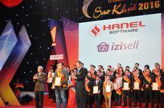 Giải pháp iZiSell nhận giải thưởng Sao Khuê 2016 dành cho Phần mềm và Dịch vụ CNTT Ưu việt
