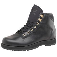 buy online 9b738 9bc00 Mens adidas Originals Adi Navvy Boots Black Gold Guys Gents (6.5 UK 6.5 EUR  40)