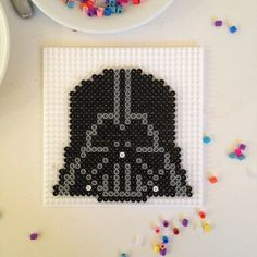 Star Wars Darth Vader hama beads by jonb1966