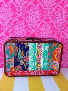 Other: Decoupaged suitcases using Crazy Love