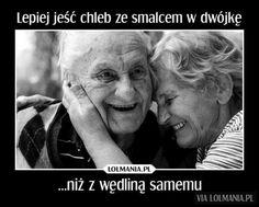 Bo we dwójkę życie smakuje lepiej Motto, Einstein, Lol, Quotes, Quotations, Mottos, Quote, Shut Up Quotes, Fun