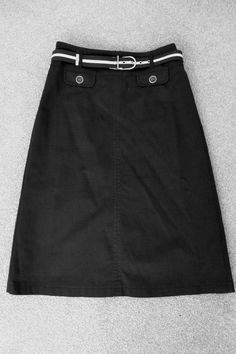 Marks & Spencer Per Una Black White Embroidered A Line Skirt BNWT ...