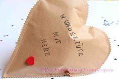 Geschenke für Frauen - Wundertüte mit Herz & Glückslos - ein Designerstück von der-atelierladen bei DaWanda