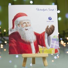 Business Christmas Card Santa Claus