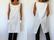 Patron de couture - Tunique femme croisée dans le dos