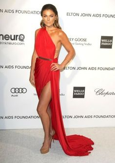 Serinda Swan - Michael Costello dress Omg I LOVE everything about this dress!!! Cut color and draping are perfect!!!! Dream dress!!!!