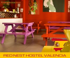 Red Nest Hostel a Valencia