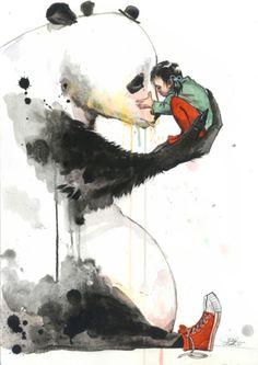 Pandagirl by Lori Zombie