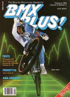 Bob Haro Birmingham in 1983 Bmx Bicycle, Bmx Bikes, Motocross Magazine, Haro Bikes, Motocross Action, Bmx Racing, Bmx Freestyle, Vintage Cycles, Heart For Kids