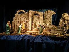 Nativity scene in S.Martino church