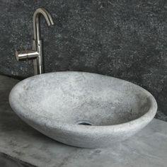 Vaschetta Ice: Ovales Waschbecken Aus Stein   Pietre Di Rapolano Shop