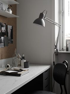 Small office look - via Coco Lapine Design blog #zz #zwyanezade
