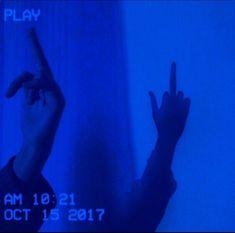 ideas dark blue aesthetic wallpaper for 2019 Blue Aesthetic Grunge, Light Blue Aesthetic, Blue Aesthetic Pastel, Rainbow Aesthetic, Bad Girl Aesthetic, Aesthetic Colors, Aesthetic Collage, Aesthetic Vintage, Aesthetic Pictures