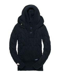 Superdry Rigging Cable Hoodie - Women's Hoodies