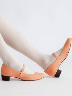 American Apparel - Mary Jane Pump Canvas Shoe