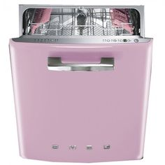 SMEG DISHWASHER - PINK
