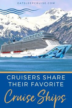 To help get over our cruise blues, we asked that Cruisers Share Their Favorite Cruise Ships to help spread this love for cruising. Cruise Excursions, Cruise Destinations, Cruise Travel, Cruise Vacation, Vacations, Royal Caribbean Ships, Royal Caribbean Cruise, Empress Of The Seas, Sea Explorer
