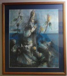 """Jesús Ovalles, """"Virgen del Valle"""", estado Anzoátegui, Galería de Arte Bahía Redonda."""