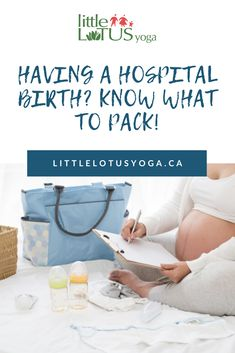 Regardless of whether you are planning a hospital or home birth, it is always a good idea to have a small bag packed with the essentials by 37 weeks of pregnancy. Breastfeeding Bottles, Little Lotus, All About Mom, All About Pregnancy, Hospital Birth, Lotus Yoga, Postpartum Care, Mummy Bloggers, Bottle Feeding