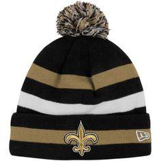 skylerNew Era New Orleans Saints Youth 2012 Sideline Sport Knit Beanie - Black/Old Gold
