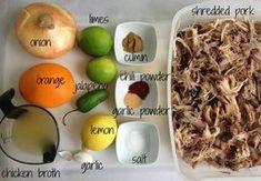 Easy Pork Carnitas – Perfect Use For Leftover Shredded Pork