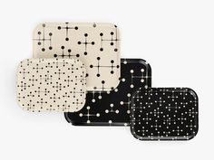 Classic Trays 'Dot Patterns' designed by Charles & Ray Eames.