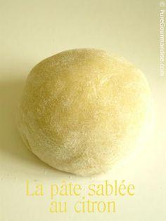 pâte sablée au citron