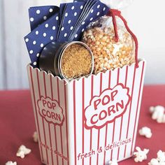 This sweet but savory popcorn seasoning makes a great gift for a movie buff.
