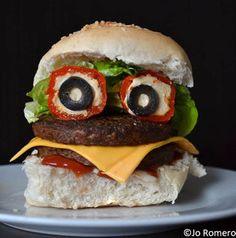 Mmm, halloween burger