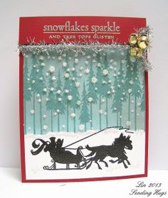 Created by Lin using the Simon Says Stamp 2013 Holiday card Kit.  November 2013
