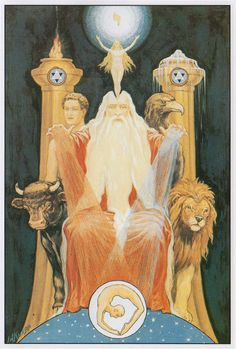 The Ancient of the Ancients,by J. Augustus Knapp  forThe Secret Teachings of All Agesby Manly P. Hall  (Hall's expositionhere)